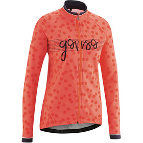 Gonso Julienne Full-Zip LS Jersey Women fiery coral